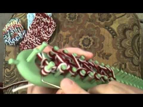 Crochet Stitch On Loom : Loom knit - Triple rib stitch knitting/crochet/sewing Pinterest