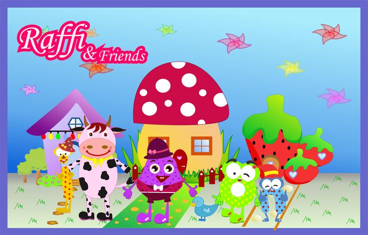 "Check out my @Behance project: ""Raffi & Friends"" https://www.behance.net/gallery/49637773/Raffi-Friends"