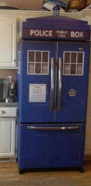 majestic dr who tardis door decal. Awesome Doctor Who fridge  114 best images on Pinterest The doctor Dr who and
