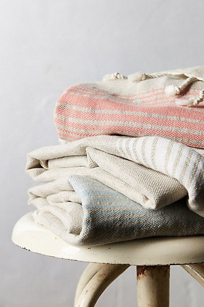 Tasseled Lagoon Towel - anthropologie.com