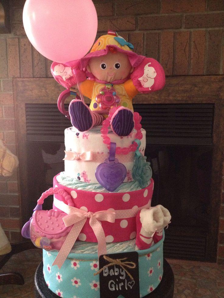 Diaper Cake #babygirl