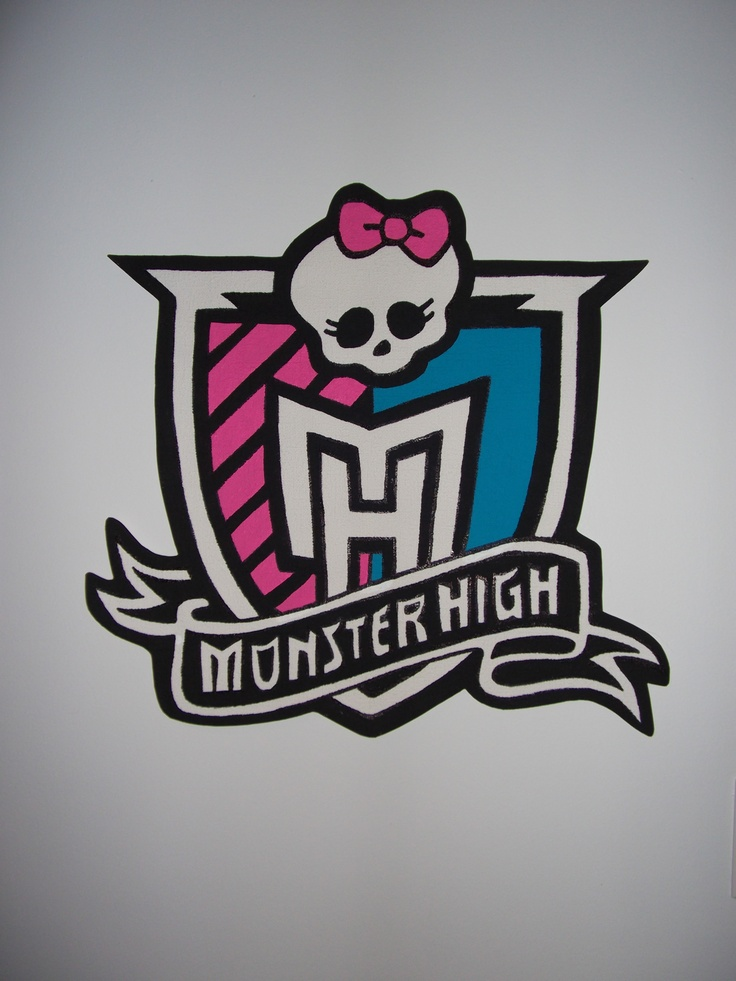 Monster High Wall Decor 105 best my monster high themed bedroom images on pinterest