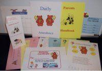 great examples, menus, plans, schedules etc...