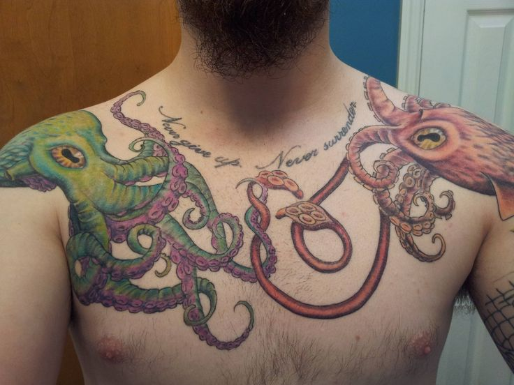 1000 images about octopus tattoo project on pinterest for Renaissance tattoo san clemente