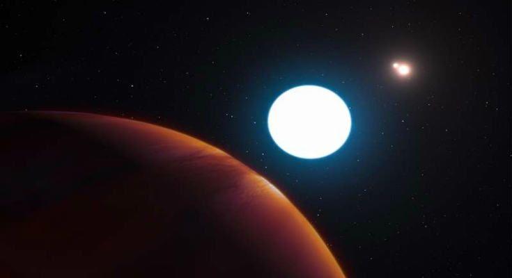 Ανακαλύφθηκε γιγάντιος εξωπλανήτης με 3 ήλιους, τέσσερις φορές μεγαλύτερος από τον Δία