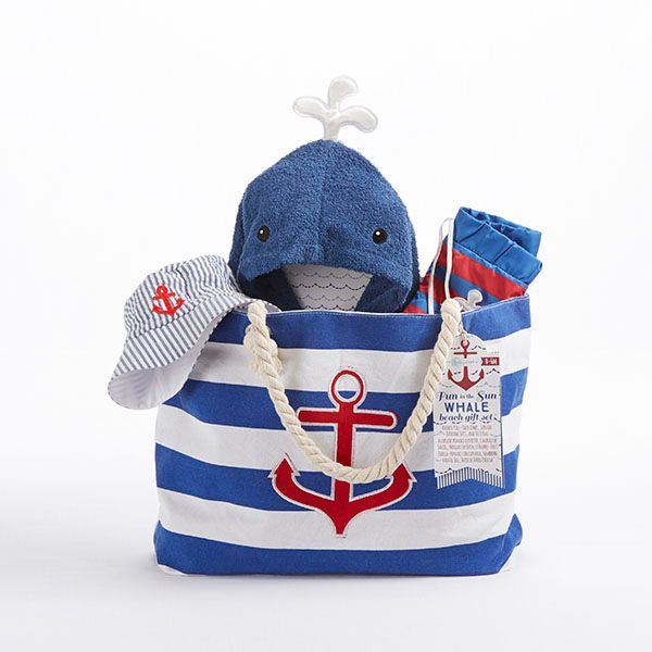 222 best lil gents baby boy gifts images on pinterest baby boy fun in the sun four piece nautical gift set with canvas tote for mom negle Gallery