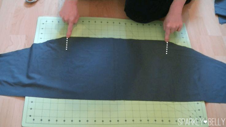 Sew tribal hip skirt
