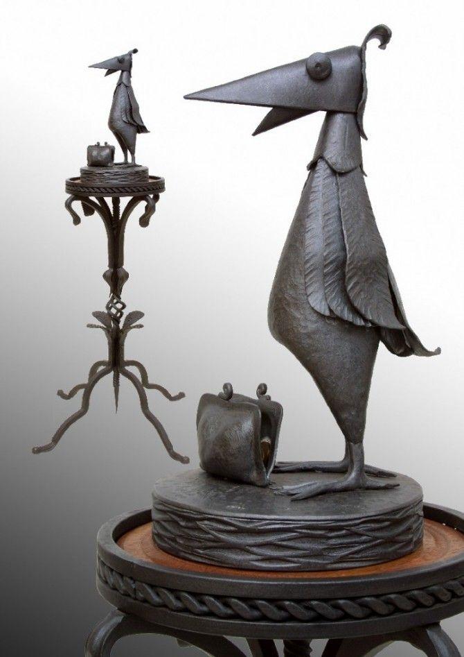 Кованая скульптура №60