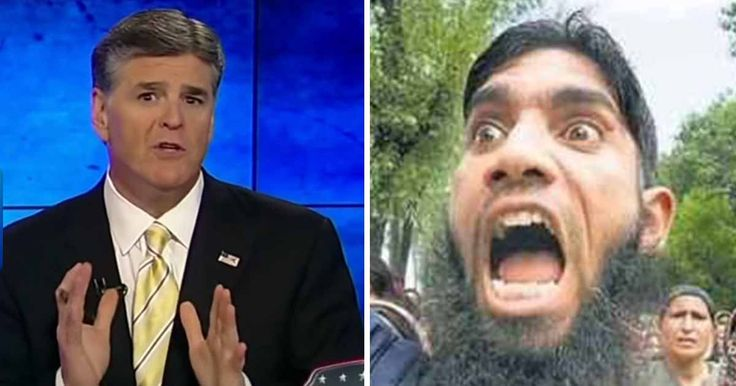 """Once again Sean Hannity decided to criticize Islam on Live TV.  Under Sharia law there is no such thing as """"human rights,"""" jus..."""