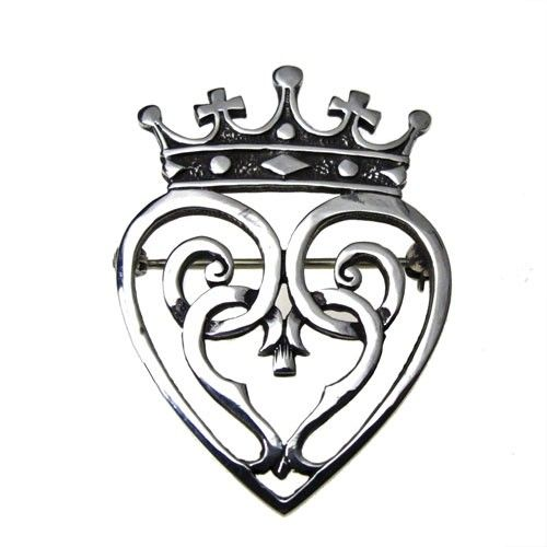 Mary Queen Of Scots Luckenbooth Brooch Called The Luckenbooth