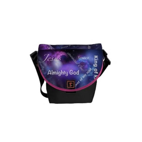 Names of Jesus Mini Messenger Bag