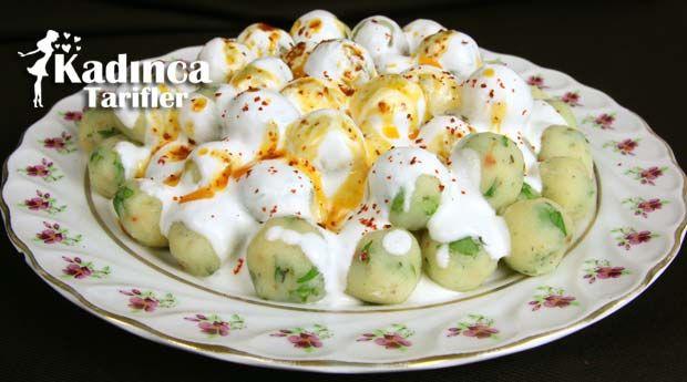 Yoğurtlu Patates Topları nasıl yapılır? Yoğurtlu Patates Topları'nin malzemeleri, resimli anlatımı ve yapılışı için tıklayın. Yazar: Sümeyra Temel