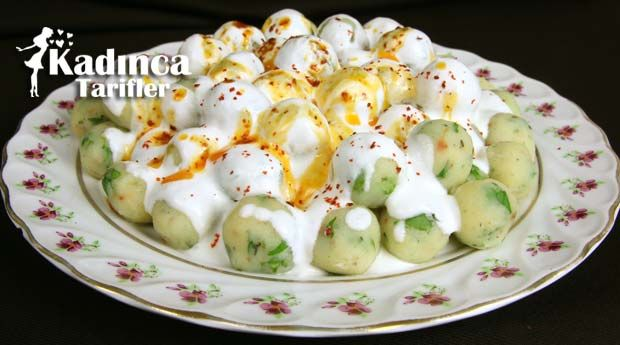 Yoğurtlu Patates Topları   Kadınca Tarifler   Kolay ve Nefis Yemek Tarifleri Sitesi - Oktay Usta