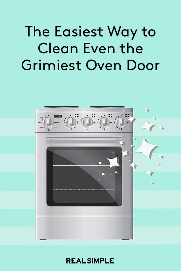 The Easiest Way To Clean Even The Grimiest Glass Oven Door