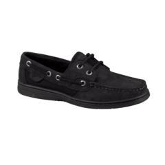 black sperrys; a want.