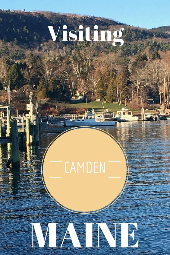 Visiting Camden, Maine, USA