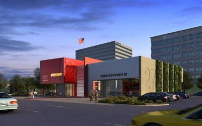 TCA Architecture U0026 Planning | Seattle City Of Dallas, Fire Station 27 | TCA