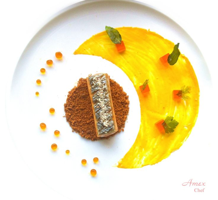 Delicately Crunchy Marinated Salmon with Orange and Lemon