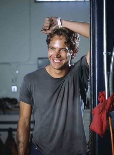 A greasy and sweaty Paul Walker, too hot!