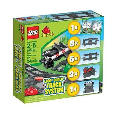LEGO DUPLO treinaccessoires set 10506  Ga je mee op een treinreis met onbegrensde speelmogelijkheden?  EUR 20.99  Meer informatie