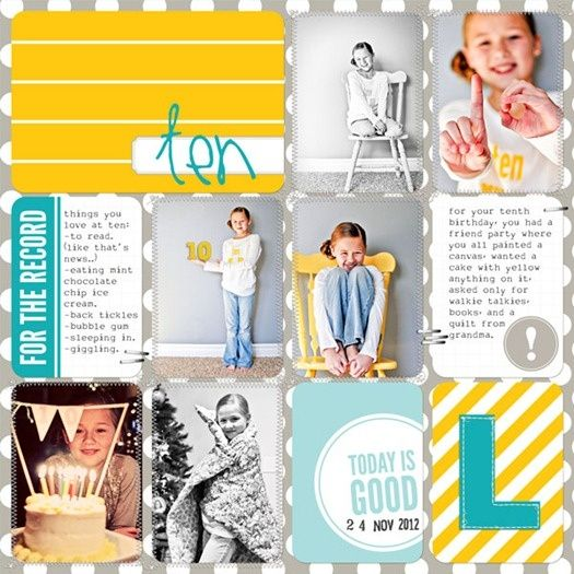 Project life. Scrapbooking