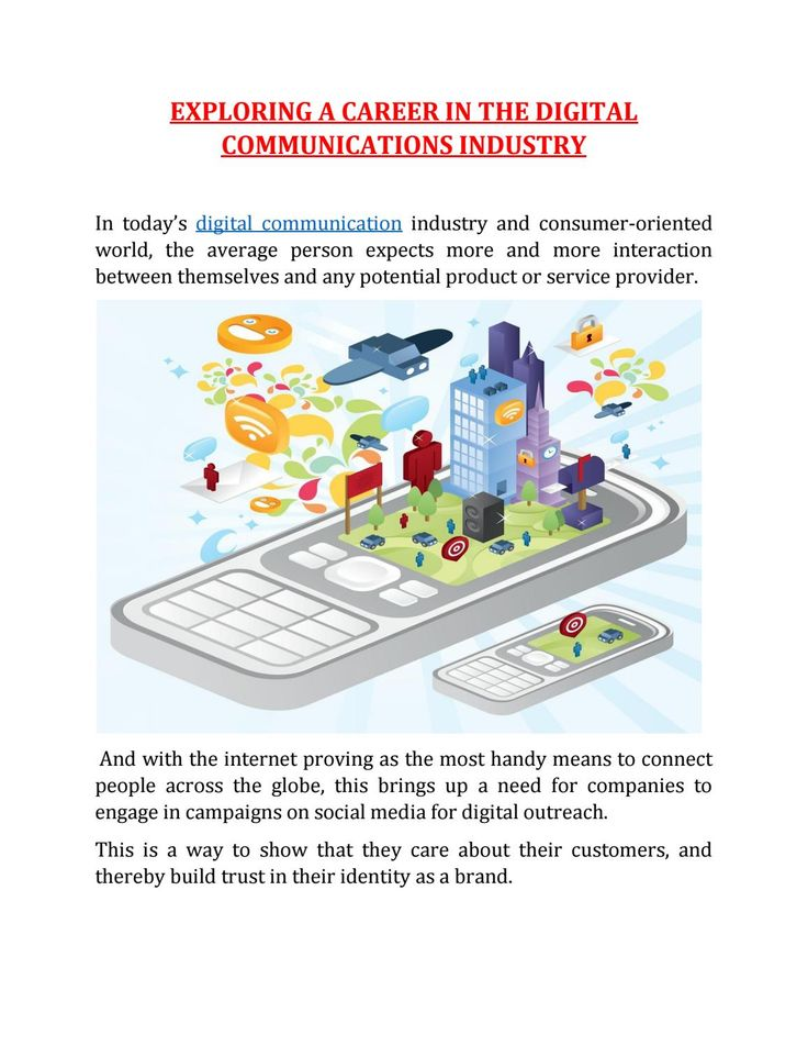 In today's digital communication industry and consumer-oriented world, the average person expects more and more interaction between themselves and any potential product or service provider.
