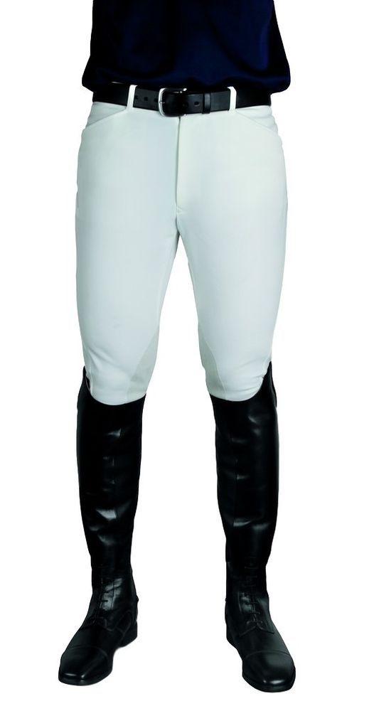 Ariat English Breeches Men Pro Circuit Front Zip 34 Reg White 10002916 #Ariat