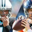 ESPN Stats & Info provides 50 stats to know -- from the historic matchup between QBs who were drafted No. 1 overall to Carolina's extraordinary rushing streak -- for Panthers vs. Broncos.