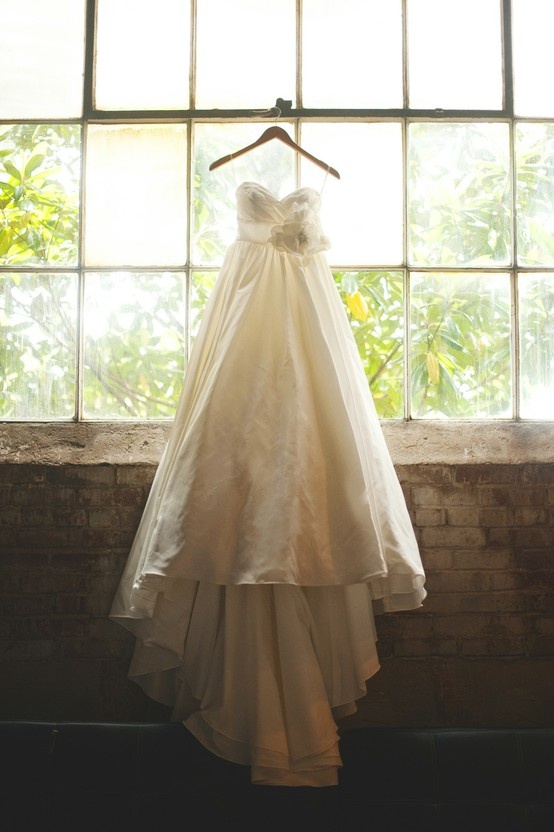 Gallery Of Hanging Wedding Dress With