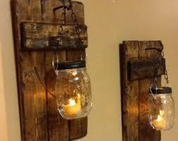 Resultado de imagen para lampara rustica de madera