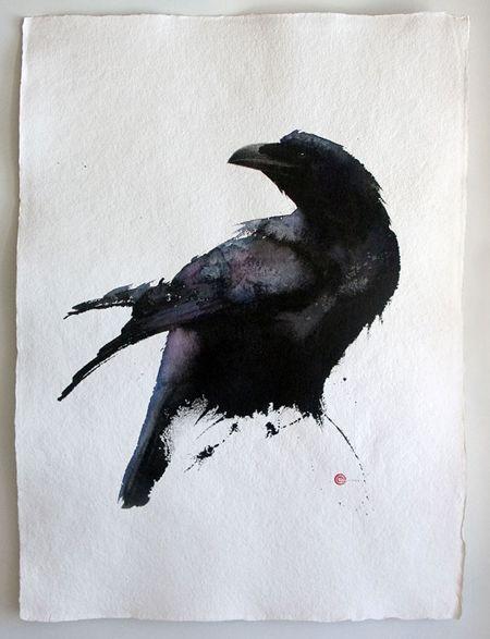 Raven: the magnificent Karl Mårtens - www.karlmartens.se