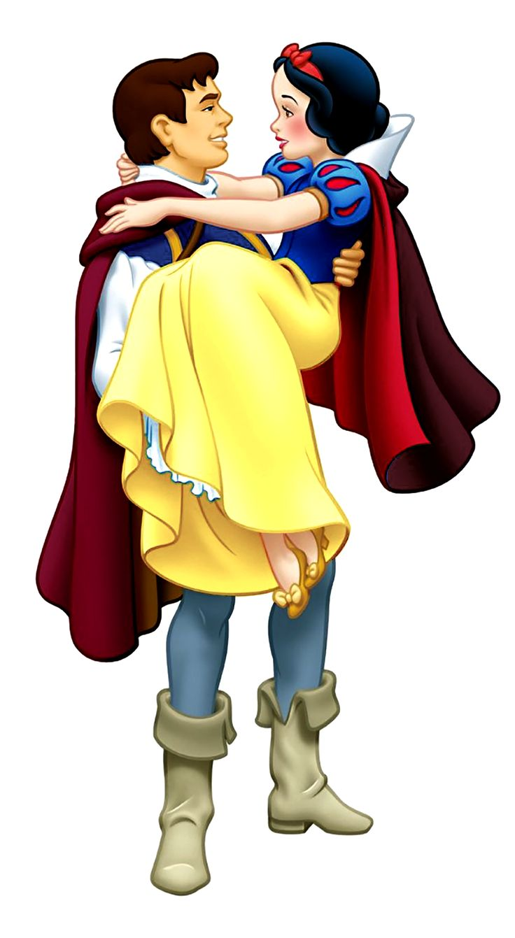 the prince carrying snow white in his arms snow white