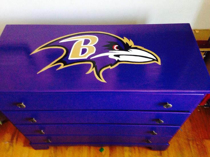 baltimore ravens dresser baltimore ravenskids bedroombedroom ideaspainted