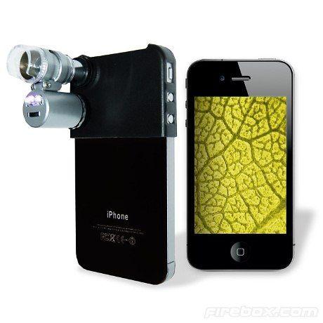 iPhone microscope: Iphone 4S, Iphone Microscope, Minis Dog Qu, Para Iphone, Gifts Ideas, Humdrum Iphone, Instruments Worthi, Minis Microscope, 60X Zoom