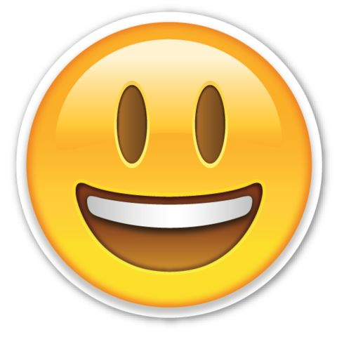 Smiling Face with Open Mouth   EmojiStickers.com