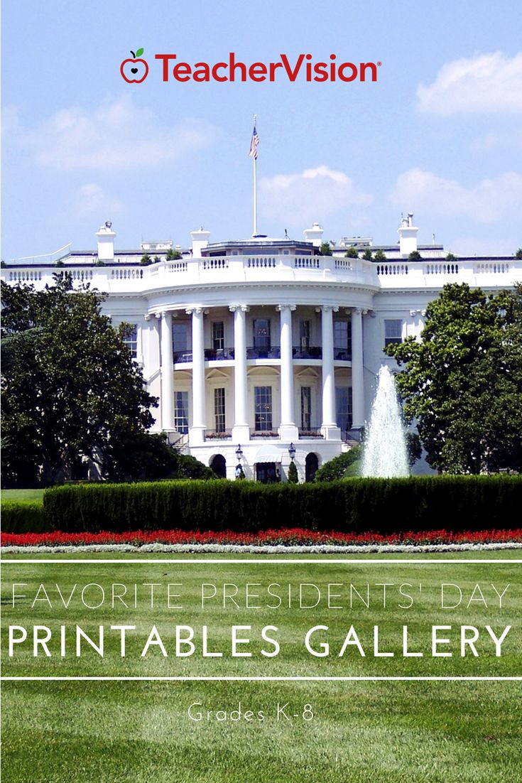 Celebrate Presidents' Day this February with one or all of our favorite activities. There are printables, lesson plans, and more resources for you to enjoy with your class. Read biographies of Washington and Lincoln, complete printable crossword puzzles, and learn all about Presidential history.
