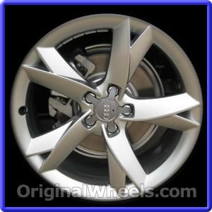 OEM 2008 Audi A5 Rims - Used Factory Wheels from OriginalWheels.com #AudiA5 #A5 #2008AudiA5 #08AudiA5 #2008 #2008Audi #2008A5 #AudiRims #A5Rims #OEM #Rims #Wheels #AudiWheels #AudiRims #A5Wheels #steelwheels #alloywheels
