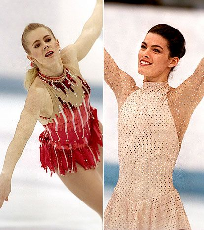 OK for a brief moment in history, figure skating was almost as interesting as hockey thanks to Tonya Harding and Nancy Kerrigan. Almost.