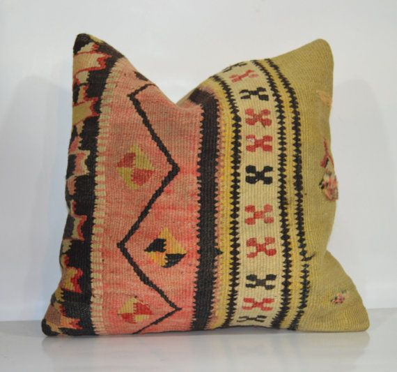 Hey, I found this really awesome Etsy listing at https://www.etsy.com/listing/177004167/kilim-pillows-16x16-pillows-organic