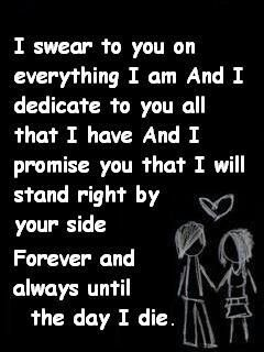 Love Quotes For Him Emo : am, My last and I promise on Pinterest