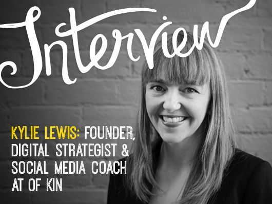 Interview: Kylie Lewis of Of Kin by Andrea McArthur for Creative Women's Circle