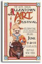 Allentown Art Festival, Buffalo NY