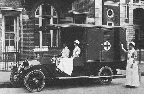 1914 napier ambulance by jawaha75243, via Flickr