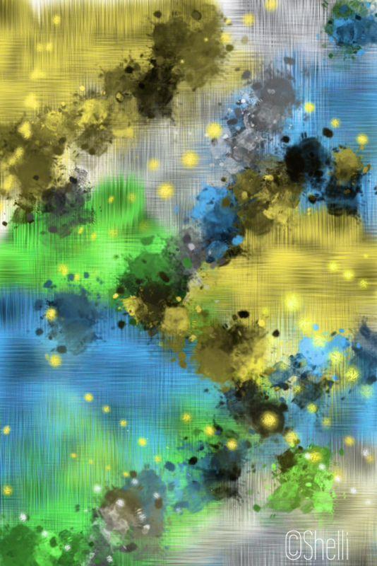 """""""Dreams of Heaven II"""" digital art by Shelli Fitzpatrick"""