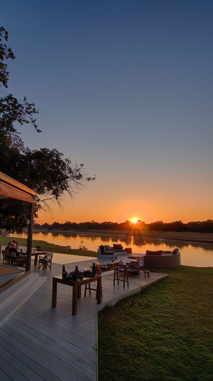 Chinzombo Camp, Time + Tide - Norman Carr Safaris, Zambia, Riverside views teeming with wildlife, large decks, private pools and direct access into one of the most game rich areas of the National Park. #travel #reisen #urlaub #zambia #chinzombocamp #luxurysafaris #safaricamps #timeandtide #casaliotravel #casalio #luxurytravel #luxurylifestyle #luxuryadventure #adventure #bushcamps #wildlife #luxuryvillas #luxuryvillasinzambia #zambialodges #zambiavillarental