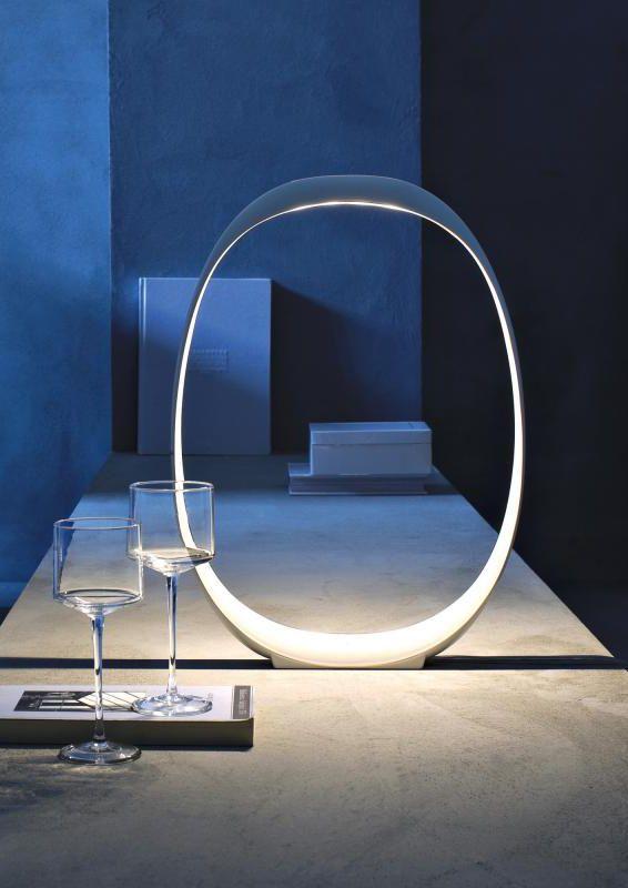 Beautiful Foscarini Anisha piccola Tavolo Die LED Tischleuchte mit Dimmer passt sich an unendlich viele Situationen Umgebungen und Verwendungen an