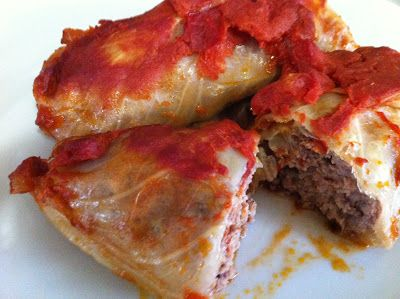 Low Carb Cabbage Roll Recipe