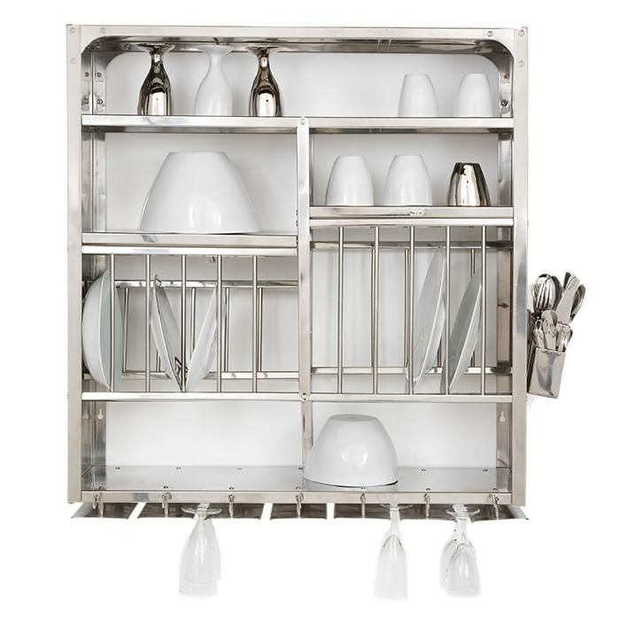 Wall-Mounted Steel Plate Rack/Is anyone else longing for this dishrack?
