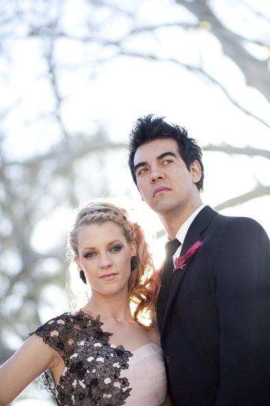 My Pink and Black Wedding