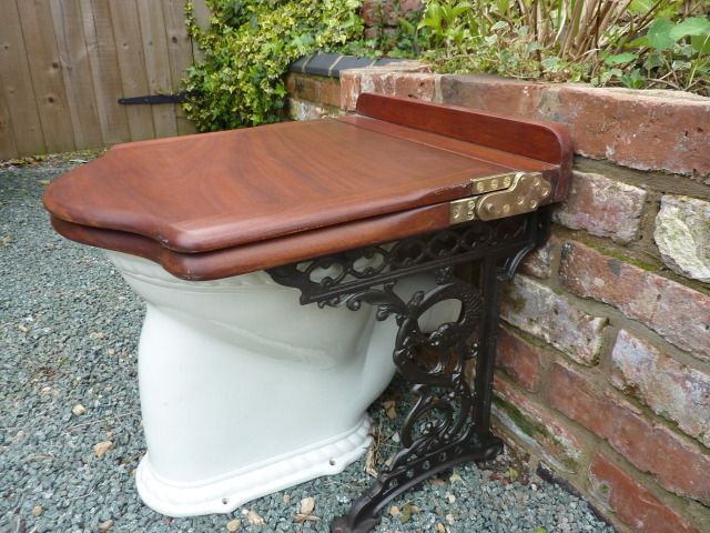 Old fashioned toilet seats 60